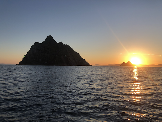 Sunrise over the Skellig Islands