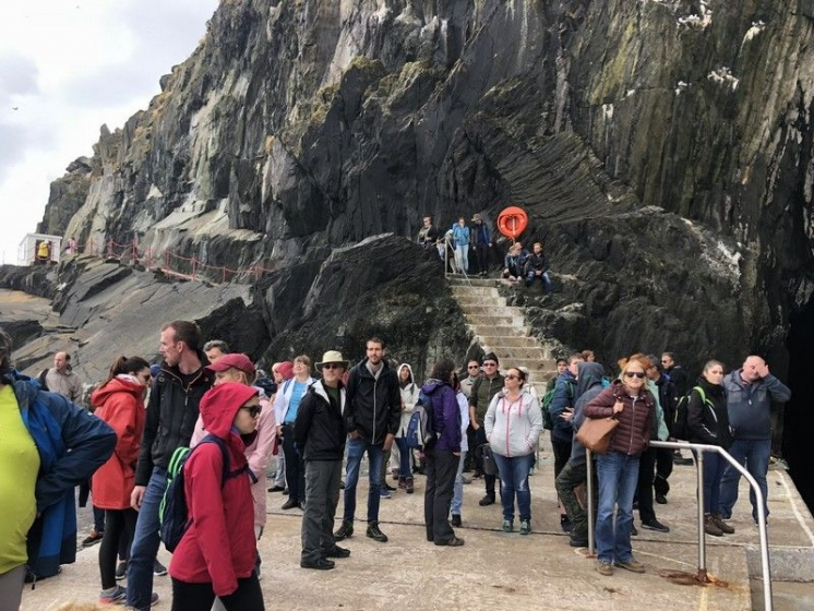 Skellig Michael is located