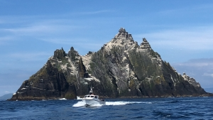 route to Skellig Michael